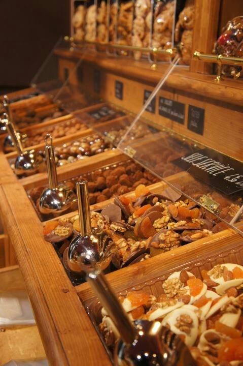 Chocolate shop, paris