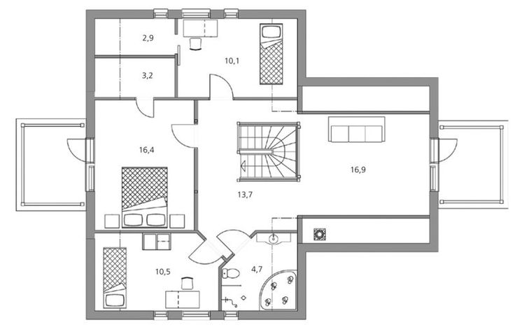 carolina 183 h user und grundrisse pinterest. Black Bedroom Furniture Sets. Home Design Ideas