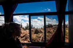 """Voyage en """"train"""" de #Sucre à #Potosi en #Bolivie"""