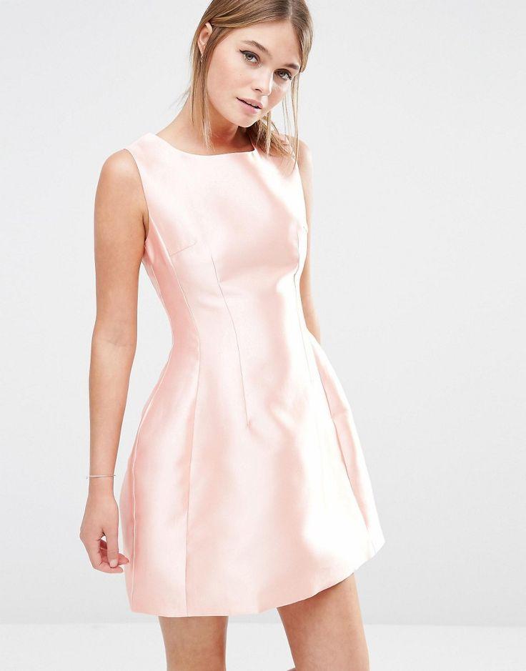 Raspberry Satin Gown