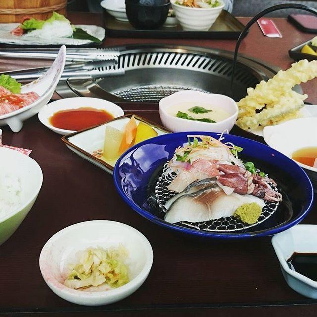 #3回目 #ひまわり #肉 #海鮮 #杏仁マンゴー