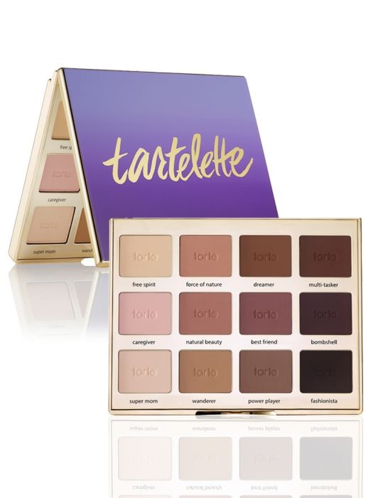 An all matte palette with 12 exclusive eyeshadows inspired by real tartelettes just like you!