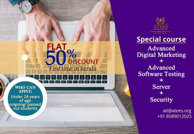 Our Special Course Advanced Digital Marketing + Advanced Software Testing+ Server + Security  www.atees.org #SoftwaretestingcourseinThrissur #SoftwaretestingtraininginThrissur #TestingcourseinThrissur #SEOcourseinThrissur #SEOcoursetraininginThrissur #DigitalmarketingcourseinThrissur