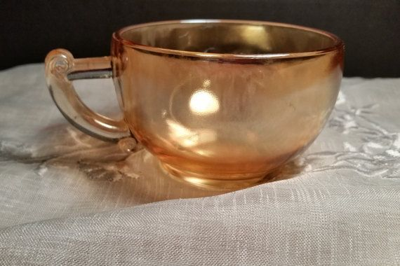 Jeannette Co Marigold Cup Vintage Egg Nog by ShellysSelectSalvage