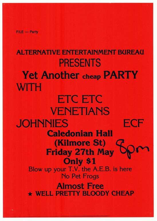 Alternative Entertainment Bureau presents