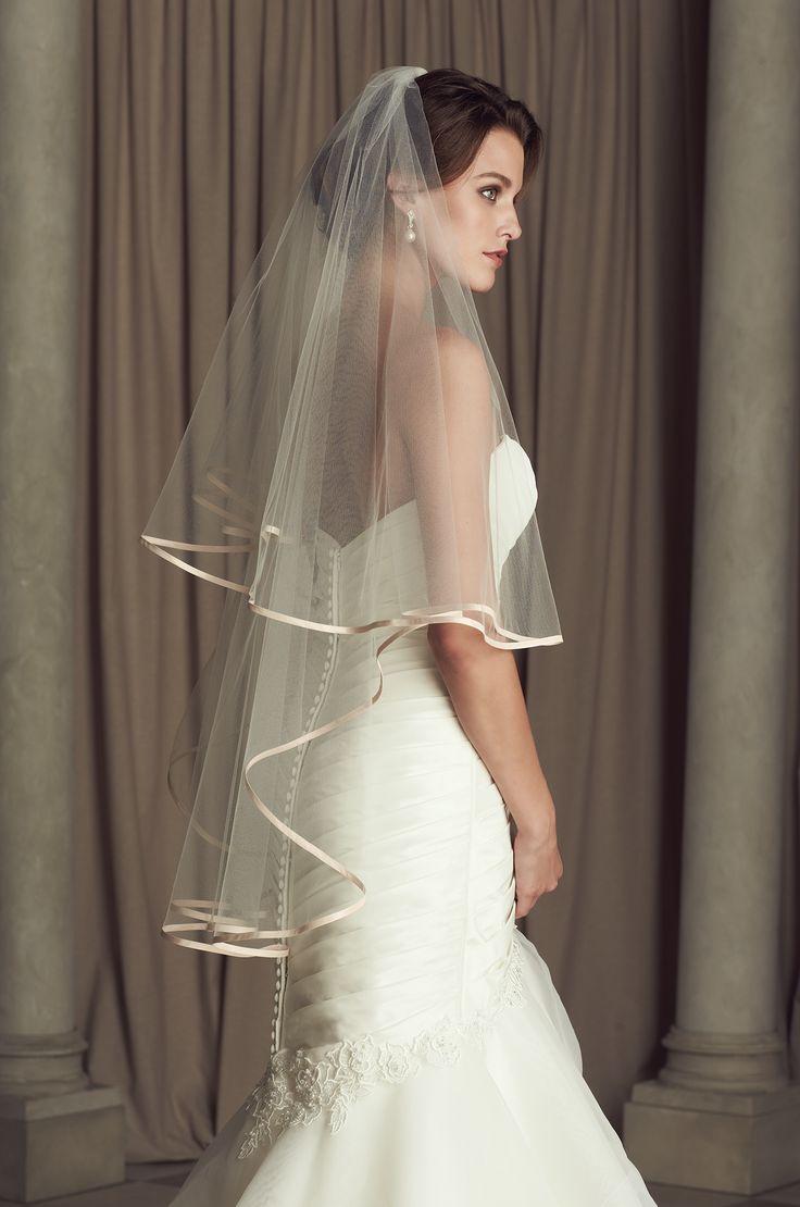Coloured Wedding Veil