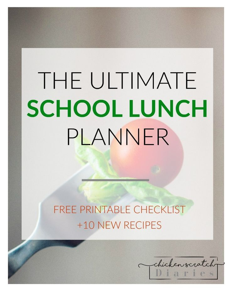 Need school lunchbox ideas?  I've got you covered!