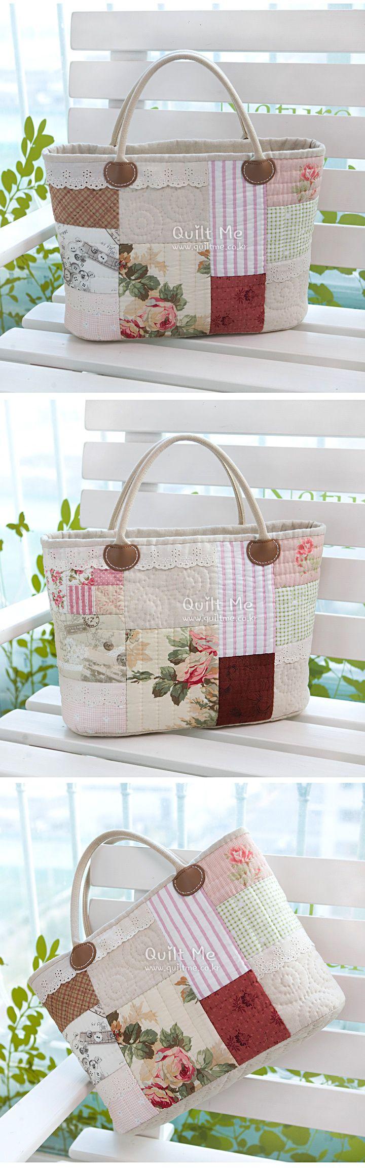 American quilt - Lovely cream back]