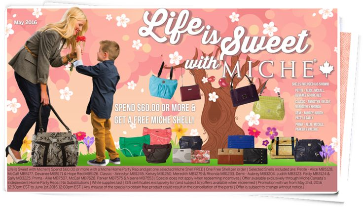 May 2016 Special; Life is Sweet with Miche!