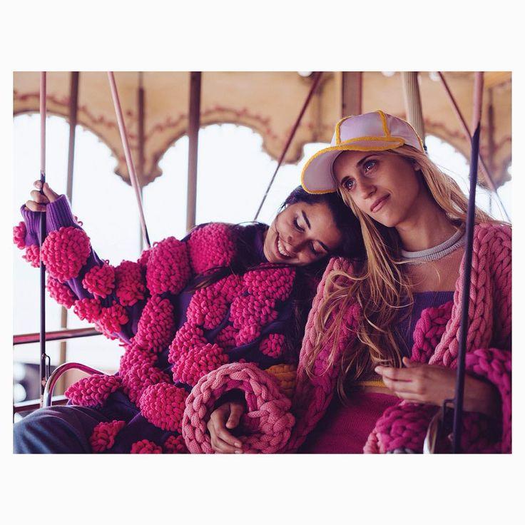Aitana Baeza Knits - #lovely  #pompi #cottoncandy   #Photographer :...