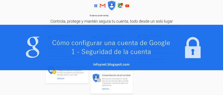 Cómo configurar una cuenta de Google (1) Seguridad de la cuenta