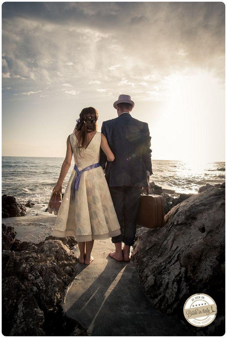A lovely bridal gown by Francesca Zappia, ph Raya Visual Art http://www.brideinitaly.com/2012/12/snc-sanfelicecirceo.html #italianstyle #madeinitaly