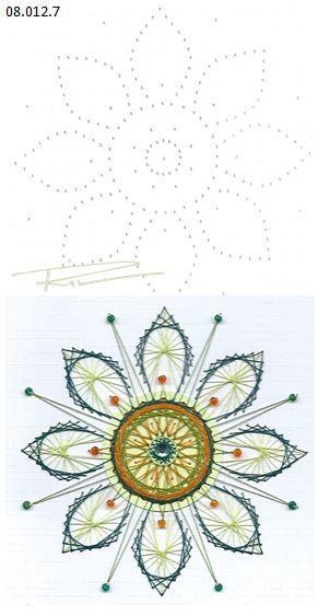 Rit Vanschoonbeek 08.012.7 Borduren op papier