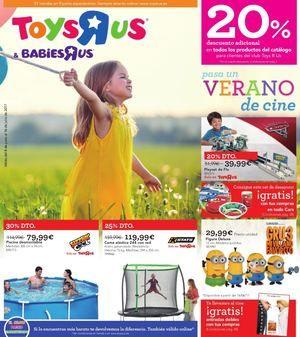 ➡ToysRus: Pasa un VERANO de cine - 20% descuento adicional en todos los productos del catalogo - ToysRus: Pasa un VERANO de cine - 20% descuento adicional en todos los productos del catalogo  ➡ Ver Catalogo