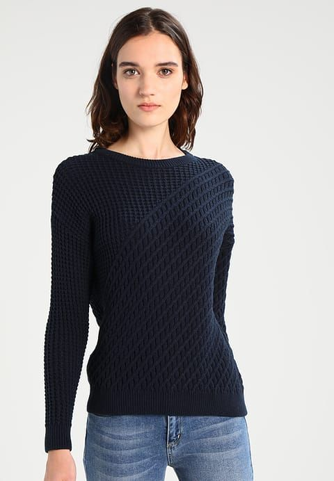 Vêtements Object OBJCLOUDY - Pullover - sky captain bleu foncé: 39,95 € chez Zalando (au 13/10/17). Livraison et retours gratuits et service client gratuit au 0800 915 207.