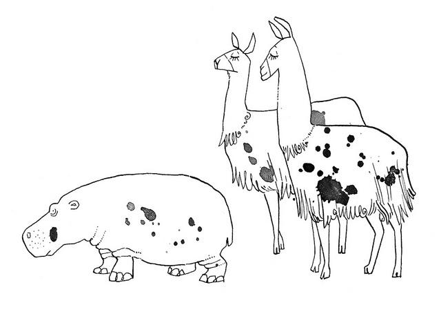 Llamas!!     Słowa z uśmiechem by Agata Raczynska, Jezyk Polski, IV klasa, WSiP | via Flickr