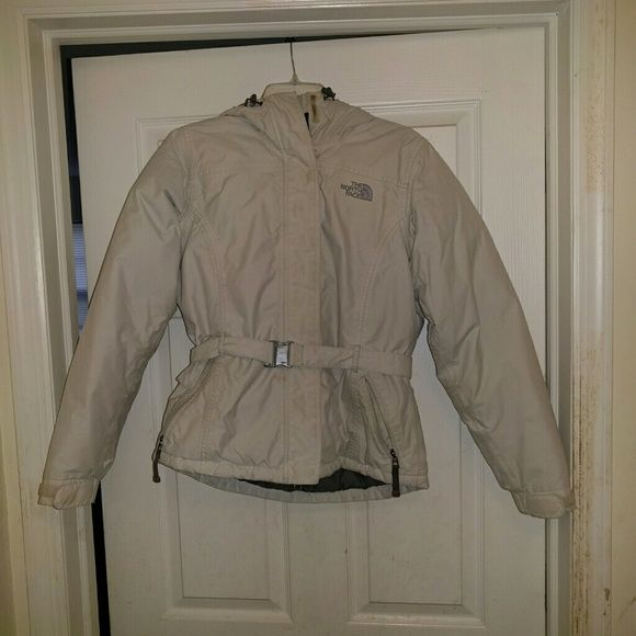 North Face Coat Pre-loved North Face coat  Please take note of broken buckle and stain on coat North Face Jackets & Coats Puffers