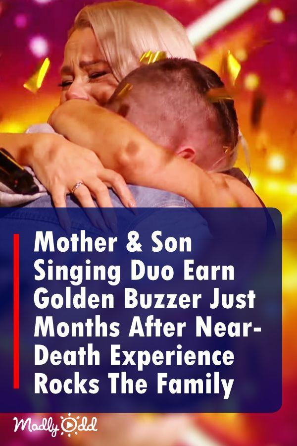 Mother Son Singing Duo Earn Golden Buzzer On Irelands Got Talent