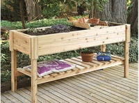 This would be nice!: Garden Ideas, Raised Gardens, Raised Beds, Outdoor, Gardening