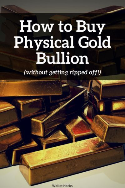 Some people think of physical gold bullion as an investment, I think it's better to think of it as insurance. See how to buy the yellow stuff without getting ripped off. | how to buy gold | investing tips and tricks | tips for investing in gold | investme