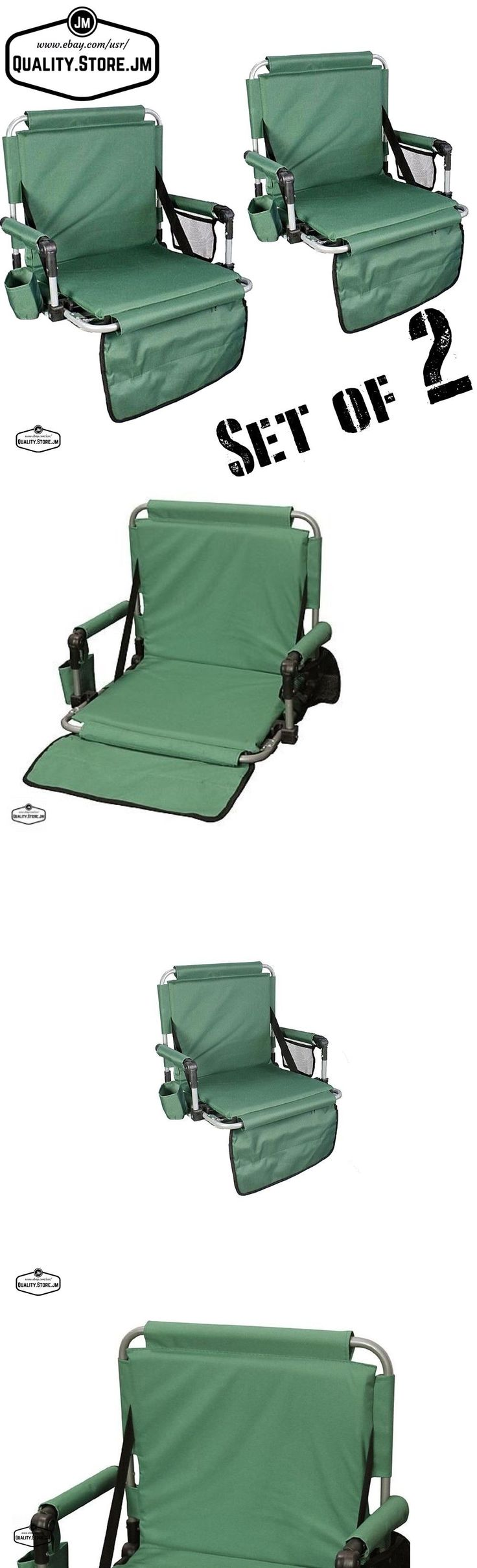 Other Outdoor Sports 159048: Stadium Chair Seat Folding Portable Bleacher Lawn Padded Football Outdoor Pad 2 -> BUY IT NOW ONLY: $42.9 on eBay!