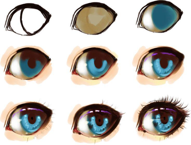 eye step by step by ryky.deviantart.com on @DeviantArt ...