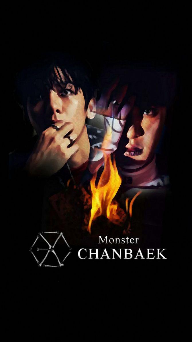Google themes exo chibi - Exo Monster Wallpaper Google Search