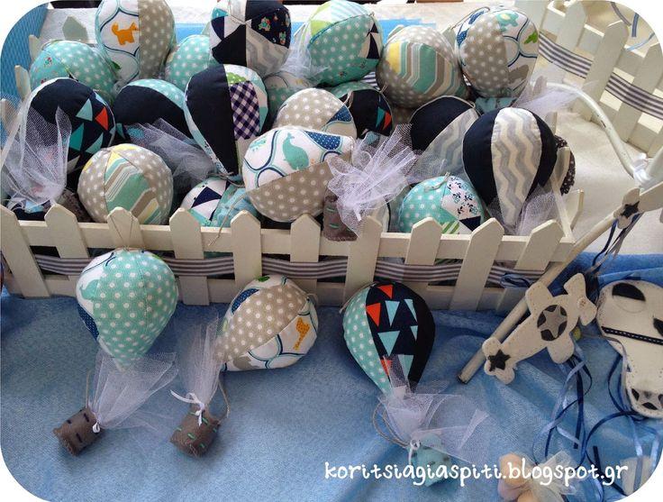 Κορίτσια Για Σπίτι: Τα αερόστατα μετατράπηκαν σε μπομπονιέρες!