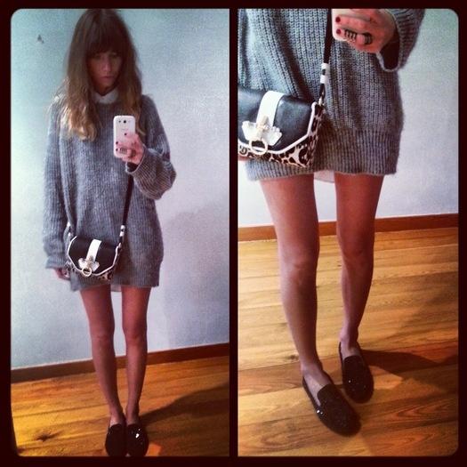 Юлия Калманович: одни слипперы — 2 образа / Модный блог / Мода / Женский журнал Glamour