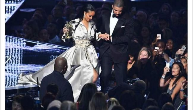 Rihanna and Drake Head Out to Celebrate After the MTV VMAs