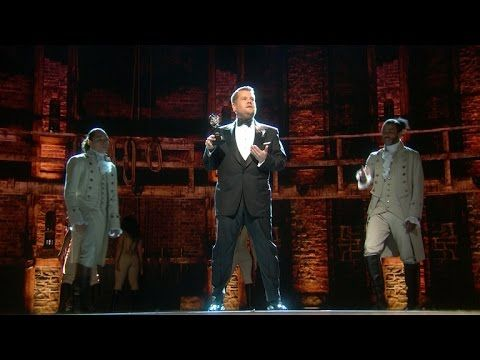 70th Annual Tony Awards - 'Hamilton's Tony Awards Ode to James Corden - YouTube