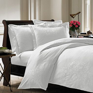 the siena duvet cover features a beautifully detailed pattern inspired by delicate vintage silk fabrics this luxuriously soft bedding has a jacquard weave