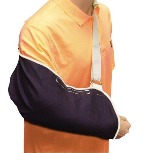 Shoulder Sling With D Rings Rotater Cuff Post Surgery Care