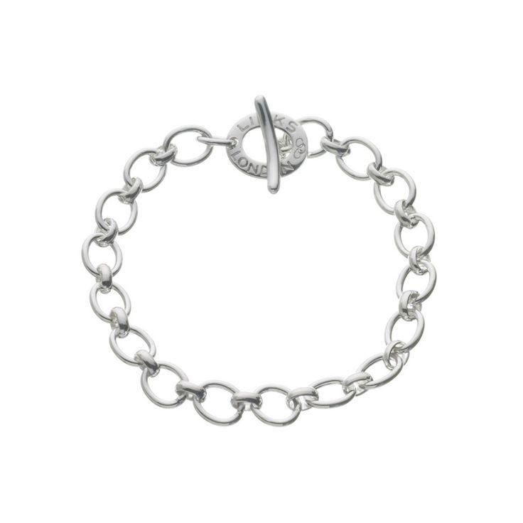 Links of London Silver Classic Charm Bracelet 5010.0136