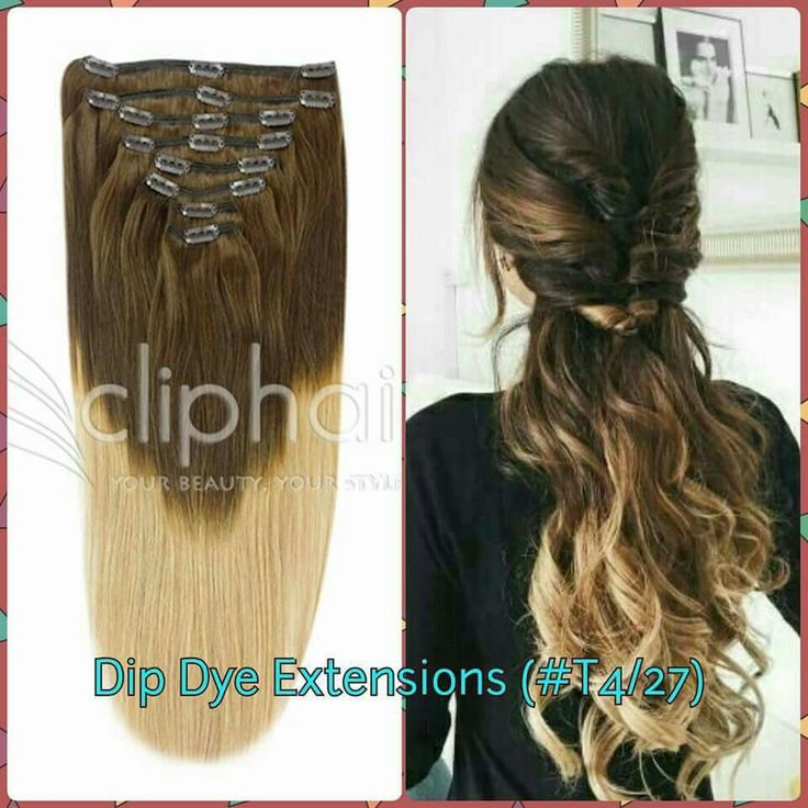 Dip Dye Hair Extensions Australia 71