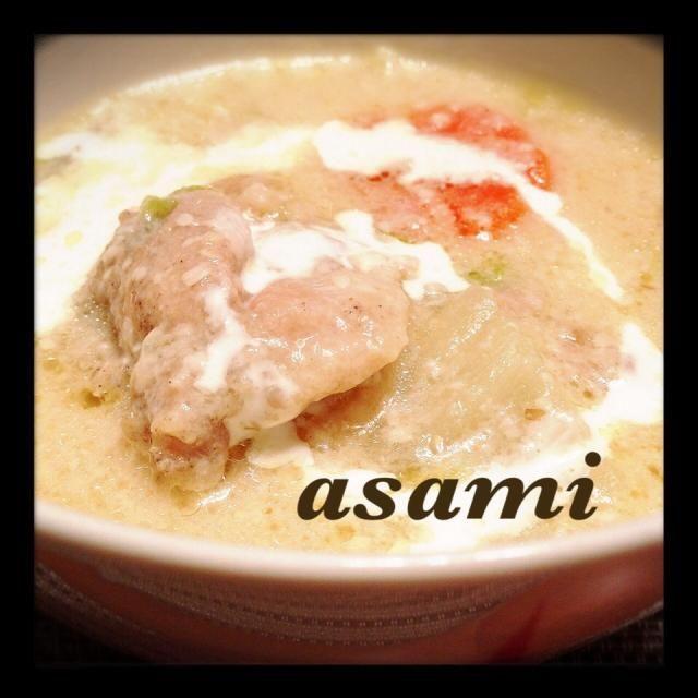 酒粕いただいたので作りました♩白菜と人参とネギで♡めっちゃ美味しかった〜!! - 60件のもぐもぐ - これは美味しい((´^ω^))さちこ(さがねっち)さんの料理 酒粕deホワイトシチュー♡(作り方ポイント、加筆しました) by Asami