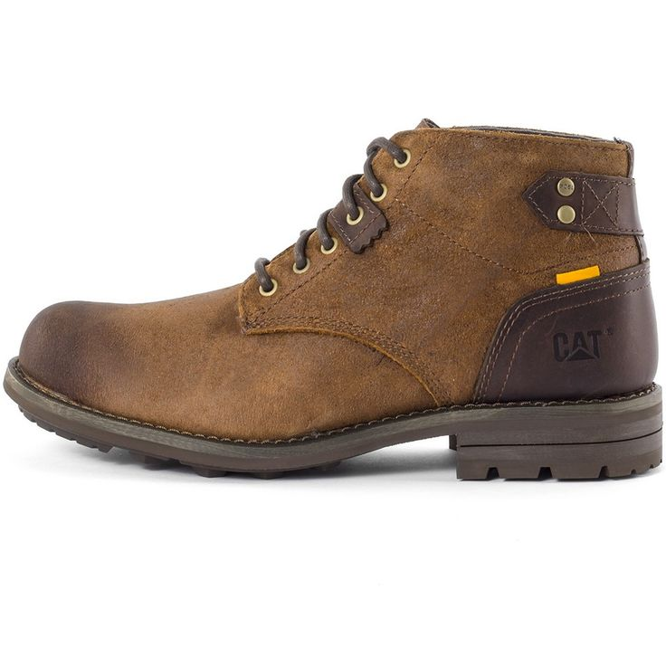 Caterpillar Newcastle Mens Boots in Brown