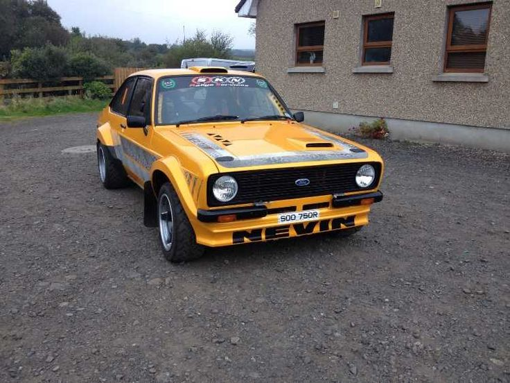 Ford Escort MK2 2.4 litre Stephen Nevin from SKN Rally Services offers for sale his brand new car built for the 2014 Ulster Rally Brand new and only ever ... & 116 best Ford Escort images on Pinterest | Ford Html and Engine markmcfarlin.com