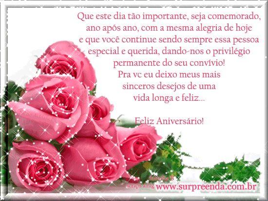 Feliz Aniversário Mensagem