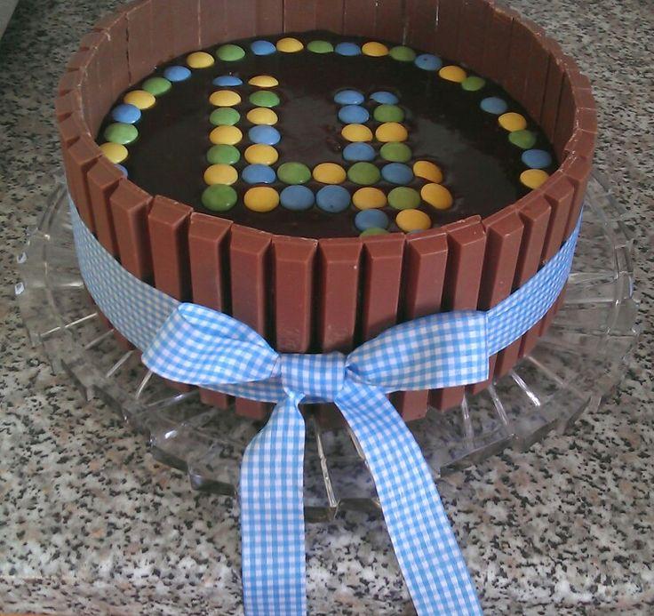 Triple chocolate birthday cake 2 years ago on my son's birthday