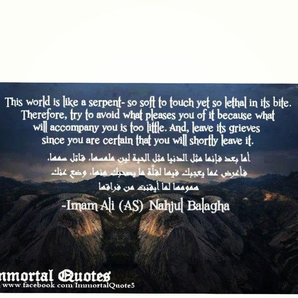 Instagram Post By Immortal Quotes اقوال خالدة Aug 14 2013 At 6 35pm Utc In 2021 Immortal Quote Islamic Quotes Quotes
