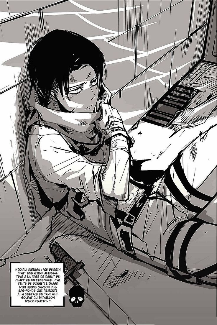 Scan Shingeki No Kyojin The Birth Of Levi 4.5 VF page 5