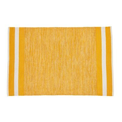 Defined Lines Rug (Yellow) | The Land of Nod