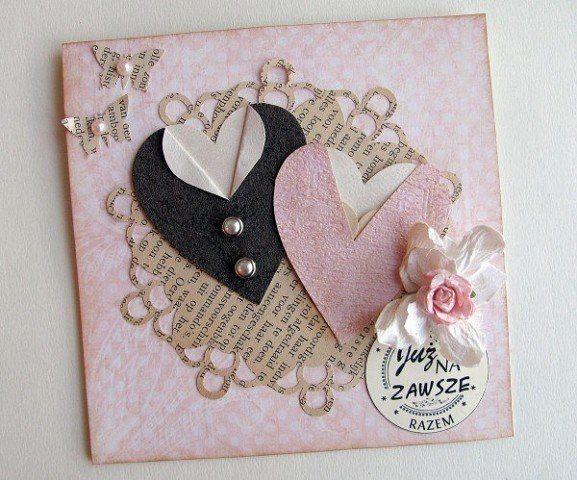 Auf folgende Seite finden Sie die Anleitung für eine wunderschöne Hochzeitskarte. Man kann immer die Hochzeitskarte selber basteln, es ist ganz einfach.