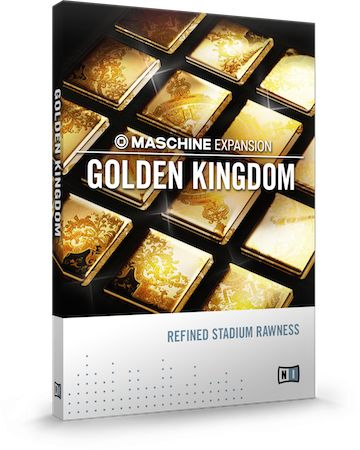 Native Instruments introduces Golden Kingdom Expansion Maschine