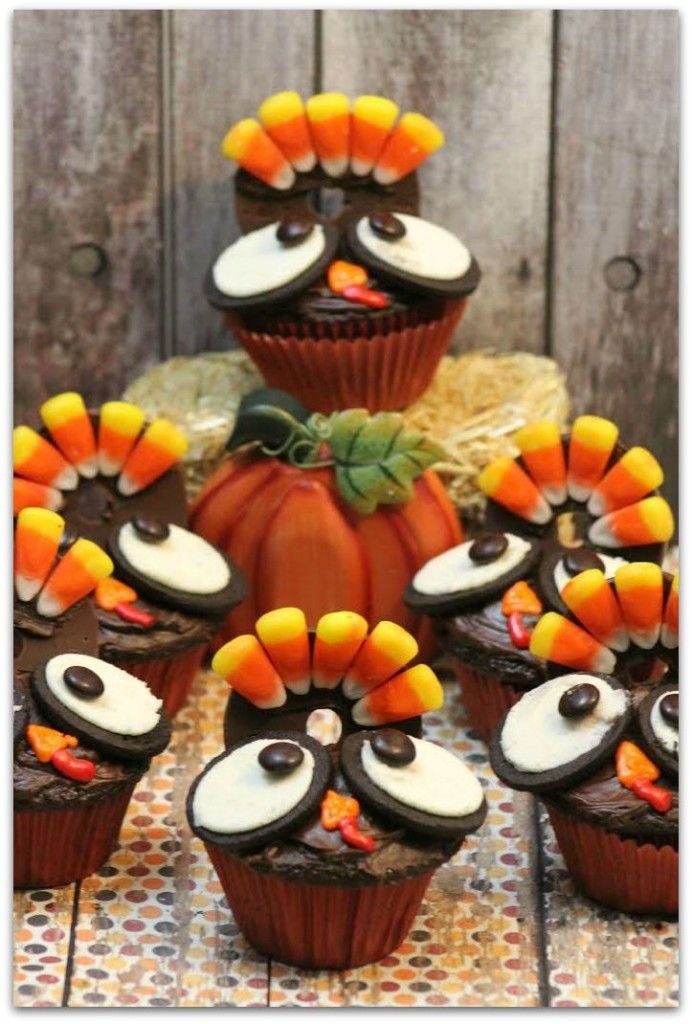 Decorating Ideas > 1000+ Ideas About Turkey Cupcakes On Pinterest  ~ 074229_Thanksgiving Recipes Decorations