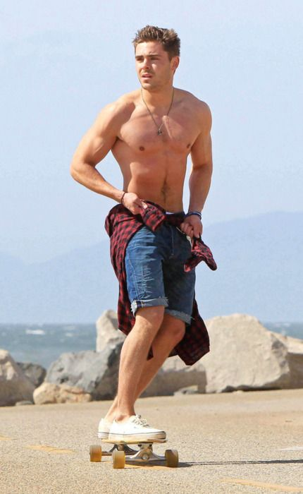 I have a crush on Zach Efron and I really don't care who knows it.