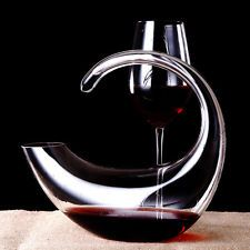 1000ml Crystal Glass Wine Decanter Aerator Container Carafe Wine Bottle Pourer