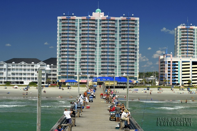 Cherry grove fishing pier is located only steps from the for North myrtle beach fishing pier