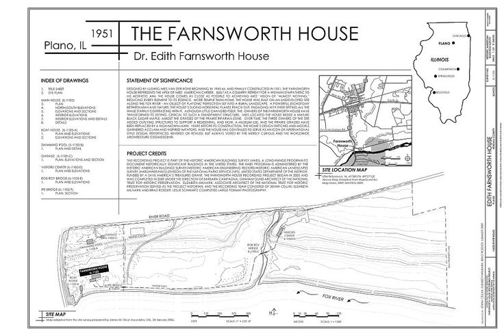 Farnsworth house site plan google search farnsworth for Farnsworth house floor plan